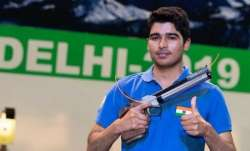 Shooting: Saurabh Chaudhary finishes 1st in qualification to book place in 10m Air Pistol final