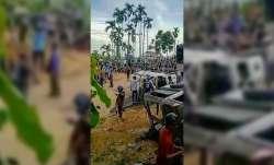 Days after border clashes, Assam, Mizoram hold first round