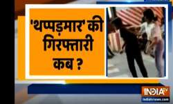 Lucknow: FIR against woman who thrashed cab driver at