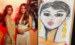 Suhana Khan creates charcoal portrait for mom Gauri Khan, latter finds it 'therapeutic'