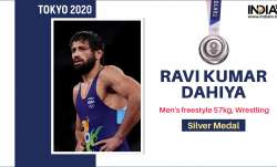 Ravi Kumar Dahiya of India