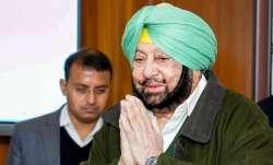 Captain Amarinder Singh congratulates his successor
