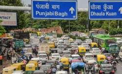 delhi traffic update