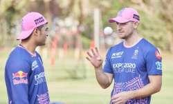 Riyan Parag and Liam Livingstone