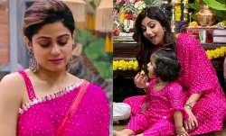 Shamita, Shilpa, daughter Samisha wear matching outfit