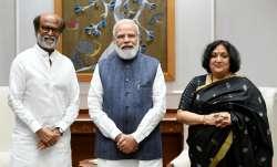 Rajinikanth meets PM Modi, President Ram Nath Kovind