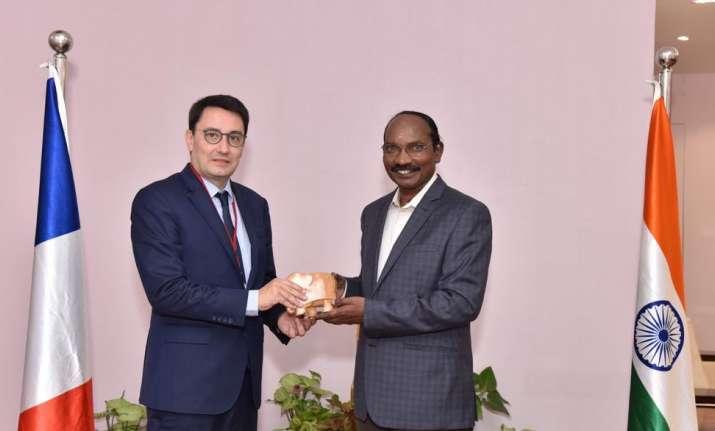 French envoy Alexandre Ziegler meets ISRO chief