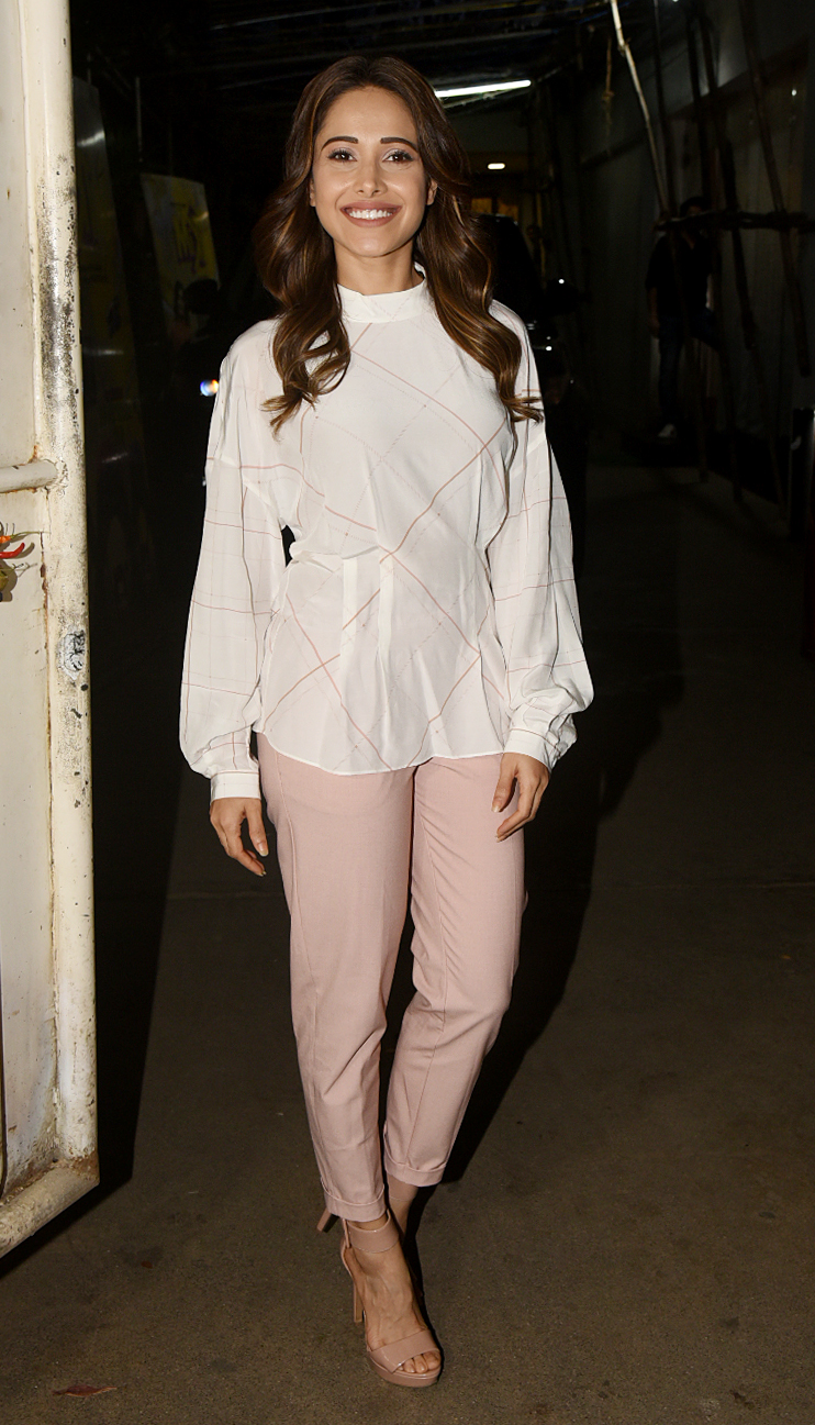 Titu ki Sweety Nushrat Bharucha was also present for the screening