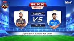 Live IPL Match KKR vs DC: Live Match How to Watch IPL 2020 Streaming on Hotstar, Star Sports & JioTV