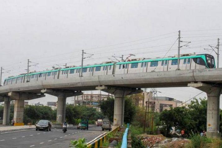 Aqua line metro